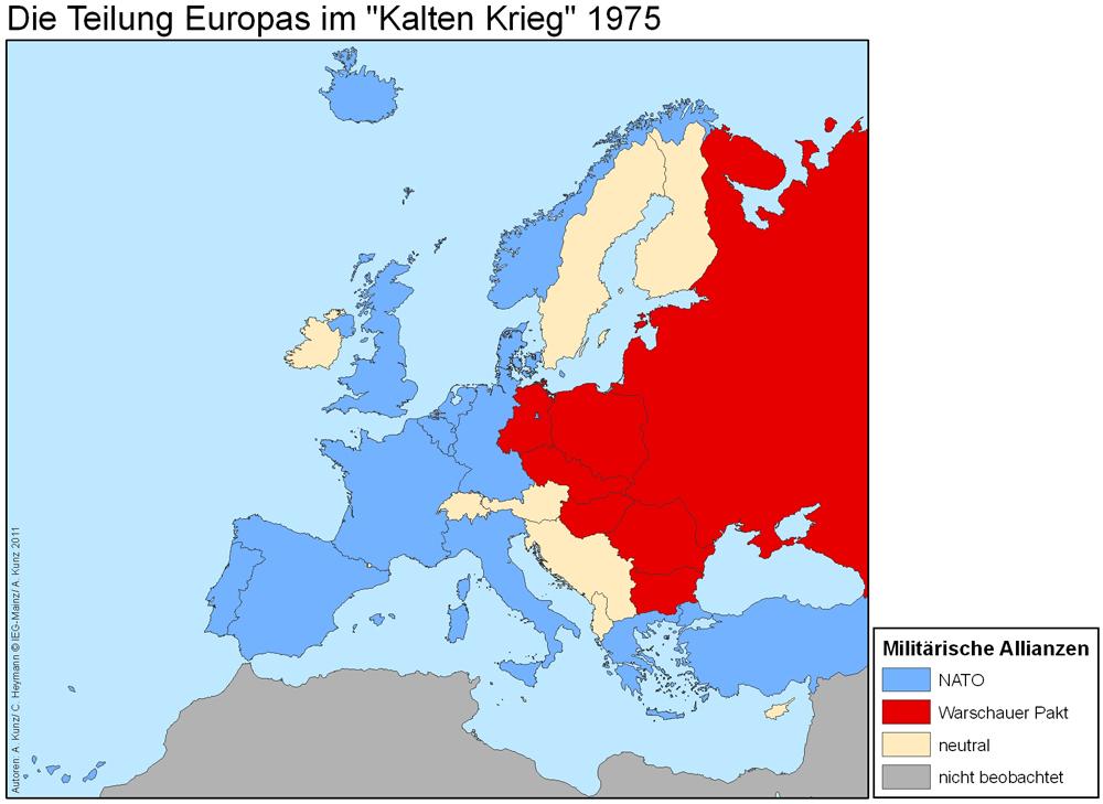 Kalter Krieg Karte.Digitaler Atlas Zur Geschichte Europas Digital Atlas On The